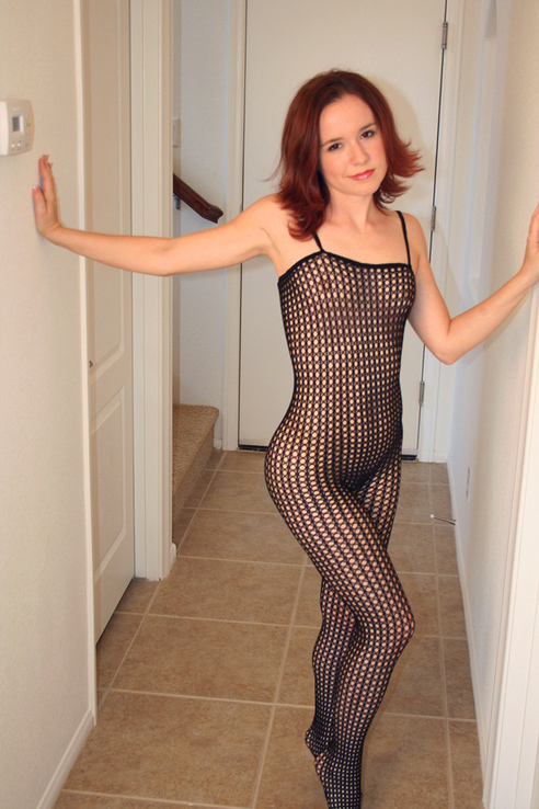 Happy fishnet Friday! Would you like me to wear this for you one night?