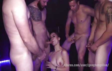 Free clip from our recent gang bang session