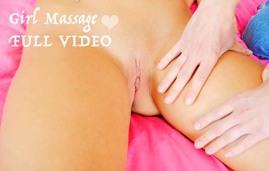 Watch me get rubbed down by a friend